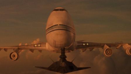 这才叫好莱坞大片,客机被劫持,军方出动F117硬核登机!全程惊险