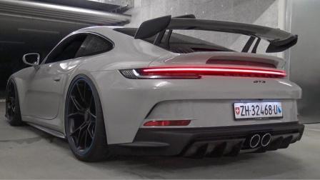 街头实拍 2022 保时捷 Porsche 911 GT3 (992)