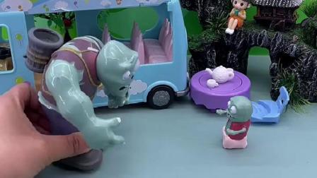 趣味童年:小鬼把蛋糕送给了小朋友们