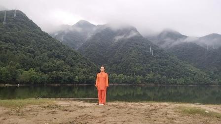 黄山太平湖习练陈氏自选套路