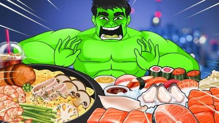 超级英雄:当绿巨人变成吃货,忘我的境界