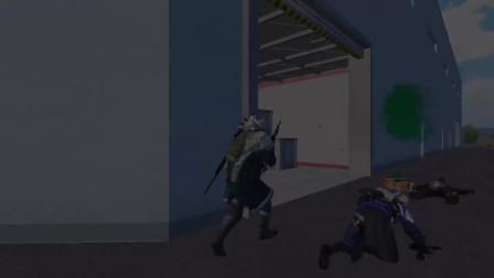 落地先来激活机器狗,高级物资全都有,信号枪也能标记