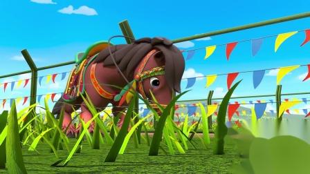 百变校巴7知识视频02-马儿为什么总喜欢看草丛?