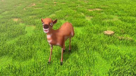 百变校巴7知识视频03-鸵鸟、斑马和羚羊的优势是什么?