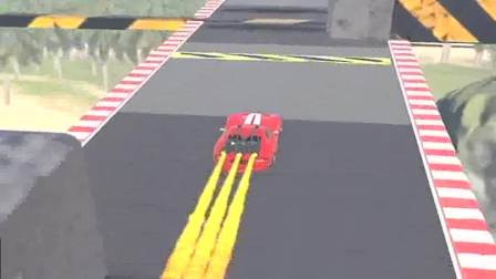 趣味小游戏:冲向终点,不要停留