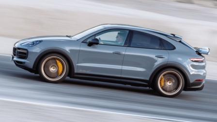 2022 保时捷 卡宴 Cayenne Turbo GT Coupé 展示 - Arctic Grey