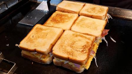 大姐失业去卖三明治,每天出摊5小时赚1500块,月收入比2万月薪儿子还高