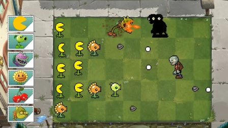 植物僵尸:火龙草和食人花合体