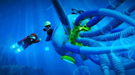 乐高 漫威超级英雄:钢铁侠联手惊奇队长摧毁海底基地