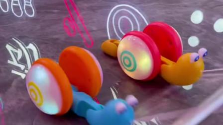 小子都喜欢的奇特蜗牛