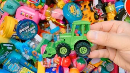 姐姐试吃汽车糖果、各种口味棒棒糖,太棒了!