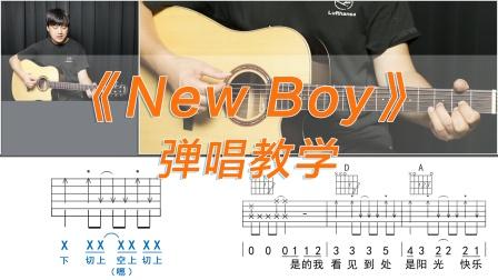《New boy》朴树 酷音小伟吉他弹唱教学