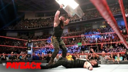 黑羊赢了比赛还不罢休,拿起铁台阶 砸晕重伤的罗曼!