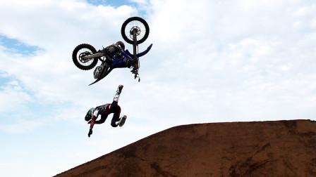 酷玩运动109:狂人1600米悬崖起跳飞翔,极限摩托车手飞跃意外身亡