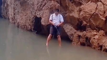 没地方钓鱼 创造地方也得钓鱼