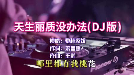 黎林添娇《天生丽质没办法》DJ版,抖音最火歌曲,真的太上头了