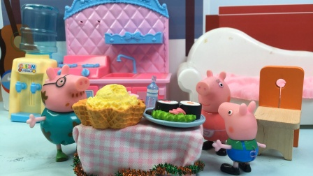 智趣玩具故事:乔治向猪妈妈要零花钱