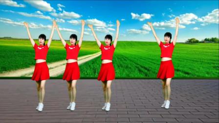 精选广场舞《最后一夜》舞蹈好看, 妹子跳舞真好看!