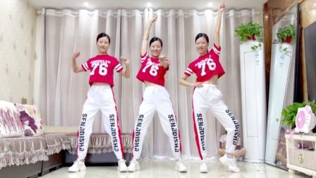 7月热门舞蹈《站在草原望北京》暴汗健身操