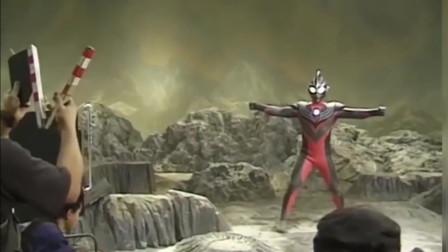 """""""无特效""""的最终圣战现场,迪迦奥特曼大战黑暗巨人,燃!"""