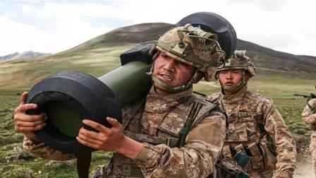 西藏军区红箭12首次亮相,可摧毁任何坦克,发射后不管自动盯目标