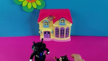 少儿益智:怪兽想让巫婆帮他找回汽车