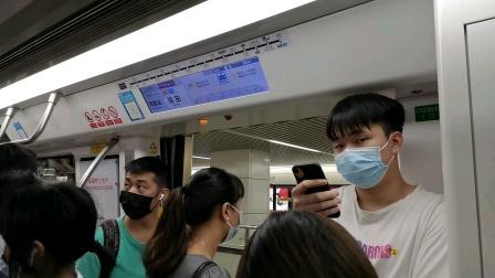 深圳地铁11号线编号1103关门