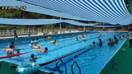 炎热的夏天,来保定游泳馆吧!(陕西省丹凤县商镇保定村)2021.7.25