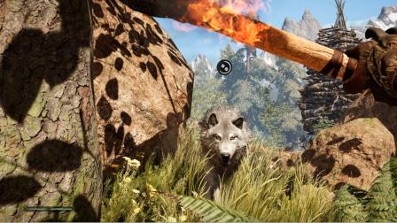 孤岛惊魂原始杀戮:困难版第6期 带着狼去攻占敌人部落