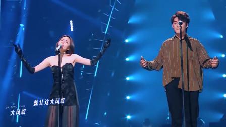 王赫野最尴尬的现场,本以为唱功稳压流量歌手,结果她随便一扭就把镜头抢了