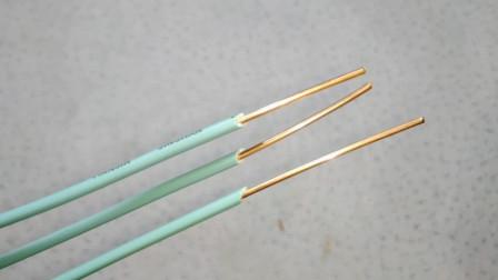 电工知识:老电工算电流有绝招,只需牢记3个数字,秒算电线的安全电流