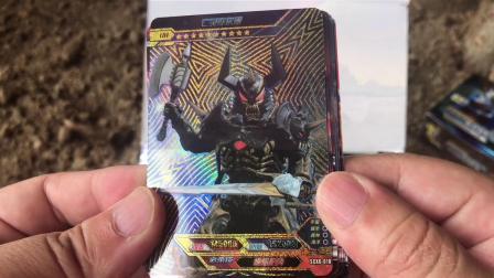 奥特曼荣耀六旧版拆卡,你是喜欢猜卡片的人吗?