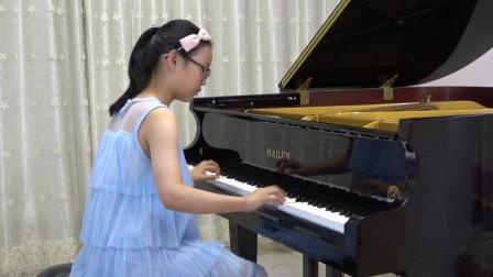 刘芷萱同学弹奏《贝多芬 回旋随想曲》
