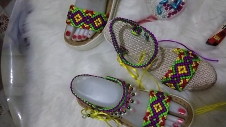 新款民族风凉鞋教程下集