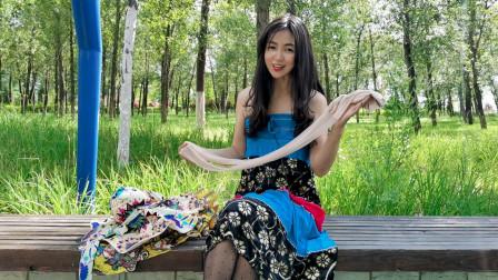 休闲长裙和肤色丝袜,搭配高跟鞋,穿出都市女性的时尚魅力