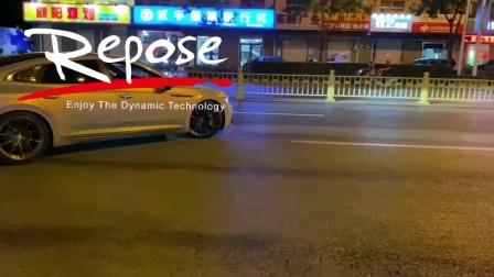 新款大众CC2.0TRepose中尾段智能阀门排气装车效果