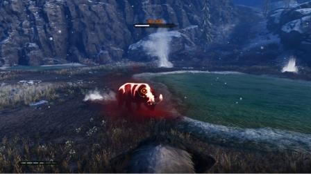 孤岛惊魂原始杀戮:困难版第8期 变身猛犸象大战犀牛群