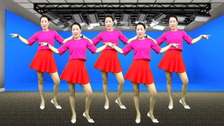 网络最火广场舞《亲爱的你呀在哪里》创新32步