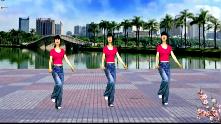 动感广场舞《醉西湖》旋律欢快动听, 舞蹈优美好看!