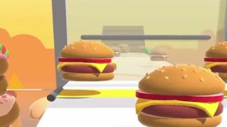 牛战士别在吃汉堡啦!