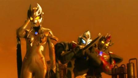 特利迦接连遭遇3位黑暗巨人,地球将成为它们的主战场!