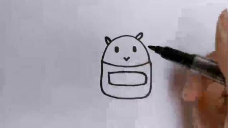 画个胖胖的小机器人