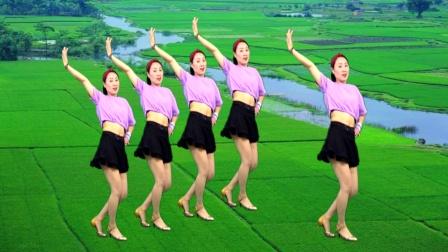 最新热歌广场舞《爱你都不敢告诉你》附教学