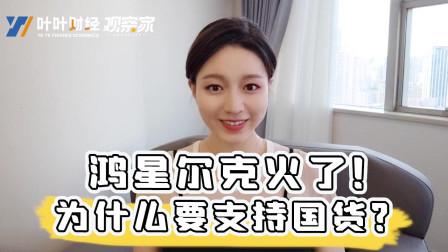 叶叶财经:鸿星尔克火了!为什么要支持国货呢,因为中国企业挺得住!
