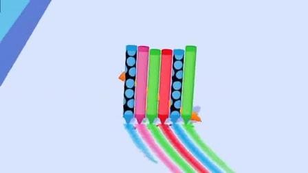 趣味小游戏:好多彩笔,真好玩
