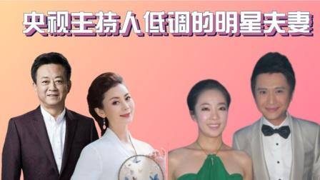 央视低调的明星夫妻,方琼老公帅过吴彦祖,杨帆和老婆夫妻相十足