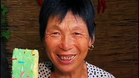 怕冷的冰淇淋怎么做?终于满足小馋鬼奶奶了