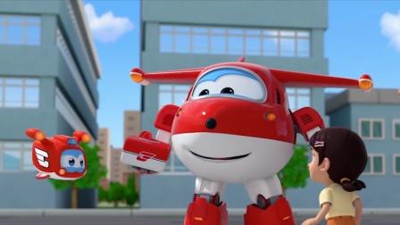 【超级飞侠9】包裹送达!敏智变身超酷飞行员