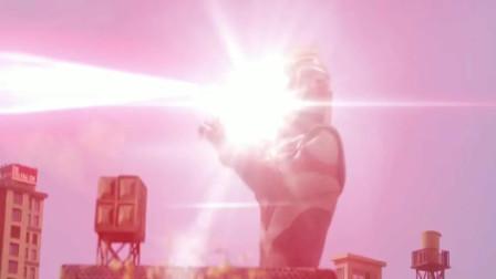 """欧布奥特曼热血战斗合集,看看奥特""""债王""""的力量吧!"""