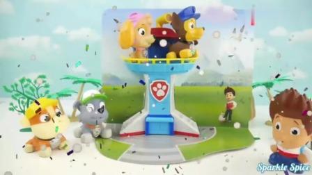 卡通玩具动画:运来一车汪汪队小狗狗